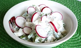 Mangoldový salát