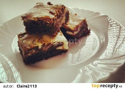 Mramorová buchta a la brownies