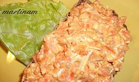 Mrkvová pomazánka s tofu