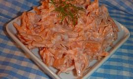 Mrkvový salát s česnekem