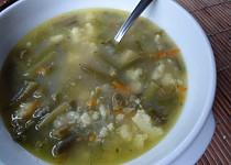 Polévka ze zelených fazolek
