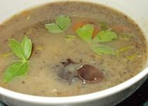 Polévkový, houbovo- celerový  krém