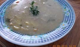 Rybí rychlá polévka z filé