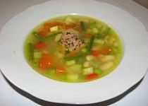 Zeleninová polévka s pestem (Soupe au Pistou) podle Julie Child