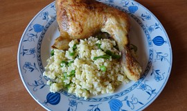 Zlaté kuře s bulgurem