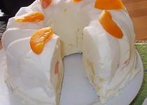 Bábovková meruňkovo  -  ananasová  zmrzlina