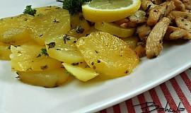 Brambory dušené na másle