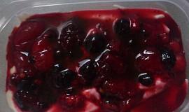 Domácí pribináčky s ovocem