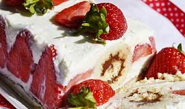 Jahodovo-tvarohovy dezert