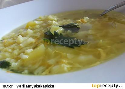 Kapustovo - květáková polévka