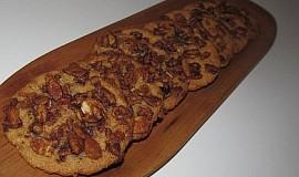 """""""Křehké sušenky s mandlovou čepičkou"""""""