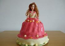 Můj první barbie dort
