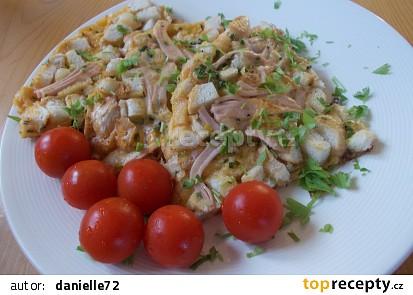 Omeleta chudé hospodyňky