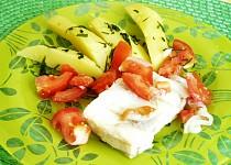Rybí filé na rajčatech s bazalkou