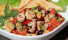 Středomořský rajčatový salát