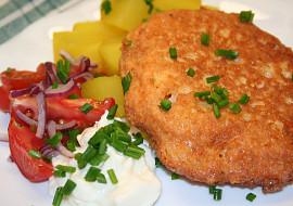 Sýrová omeleta s bramborem ala Smažák