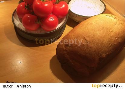 Banánový chleba s bílou čokoládou