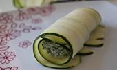Cuketové cannelloni se špenátem a ricottou