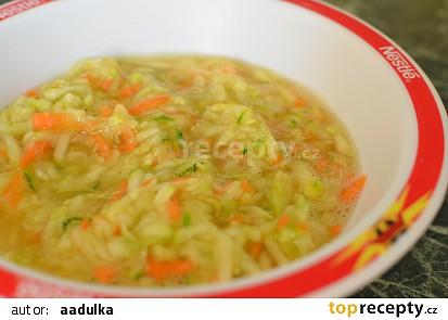 Cuketový salát s citrónem