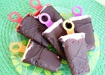 Domácí nanuky s čokoládovou polevou