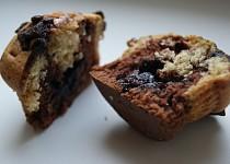 Duo muffiny plněné marmeládou