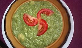 Gnocchi se špenátovým pyré, Nivou a kukuřicí