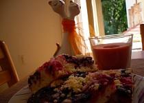 Jogurtový koláč s ovocem II.