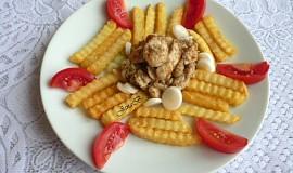 Kuřecí nudličky s kremžskou hořčicí