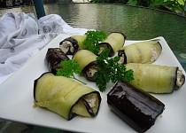Lilek s ořechy (Badridžany nigvzit)
