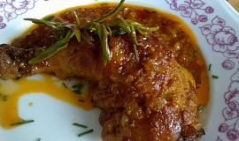 Marinovná kuřecí stehna
