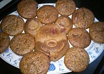 Muffiny s jahodami a čokoládou