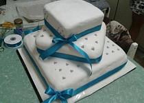 Můj první svatební dort :)