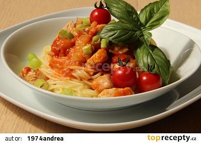 Pikantní omáčka na špagety s masem