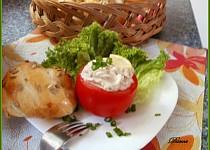 Rajčata s náplní z uzené makrely