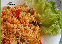 Risotto chorizo ( pikantní chuti )