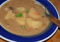 Rychlá dietní polévka s ovesnými vločkami