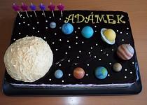 Sluneční soustava - dort