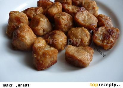 Smažené sojové kostky