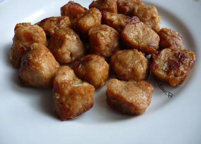 smažené sójové kostky