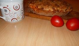 Šunkovo-sýrový chléb,podle Babicy