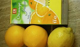 Vepřová kotleta plněná,v marinádě z citrusů pečená