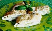 Závin s cuketou a sýrem