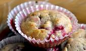 Zdravé, nízkokalorické malinové muffiny