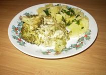 Brokolice se sýrem