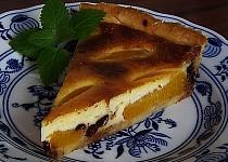 Chutný broskvový koláč z křehkého těsta