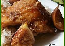 Exotické kuře se zázvorem a fíky