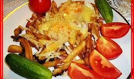 Hranolkový hemenex - večeře, když zbydou hranolky