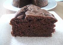 Kakaovo-banánový koláč (vegan)