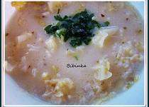 Kapustovo-zelná polévka s rýží nakyselo