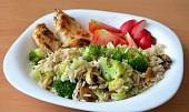 Kuřecí maso v jogurtovo-bylinkové marinádě se zdravou rýží